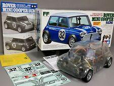 Partial Built Tamiya 1/10 R/C Rover Mini Cooper Kit M03 + Servo + TEU101BK ESC