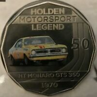 2016+2018 HOLDEN MONARO GTS PNC/'S WITH 50 CENTS COLOR COINS SET