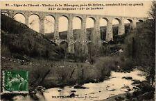 CPA  Viaduc de la Méaugon - prés Saint-Brieuc - Ligne de l'Ouest  (630404)