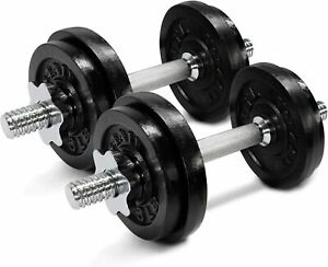 Yes4All Adjustable Dumbbells (20LB x 2) Pair 40 LBS Total Weight ships soon