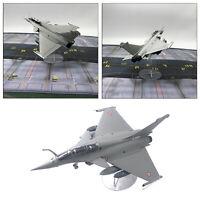 1:72 Dassault Rafale Moulé Sous Pression Militaire Armée Modèle w/ Stand