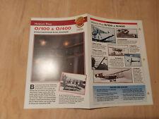 Sammelkarte Handley Page O/100 O/400