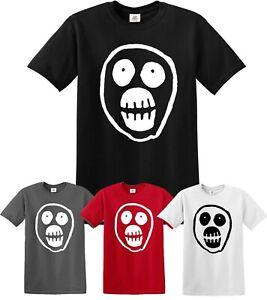 The Mighty Boosh T-Shirt, Funny Skull Series Gifts Unisex Tee Top Skulls Tshirt