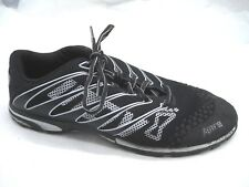 Inov 8 Mens f-lite 195 10M black womens ladies athletic running shoes sneaker