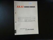 Original Service Manual Schaltplan AKAI GX-F66RC