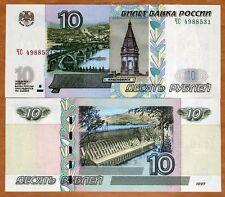 Russia, 10 rubles, 1997 (2004), P-268 (268c), Ex-Ussr, Unc