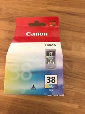 Original Canon CL38 Colour Ink Cartridge Boxed
