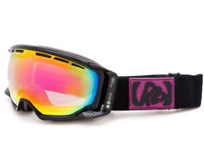 K2 Captura Black Women's Snow Goggle Black w/ Pink Pink Sunrise Lens