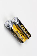 18650 Akku  6800 mAh,8,5 Wh 3,7 V Mega Batterie Li-ion 2er