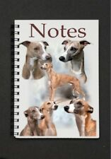 Whippet Dog Notebook/Notepad with a small image on every page - by Starprint