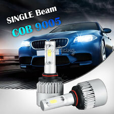 2x200W 9005/HB3 COB Single Beam LED Headlights Bulbs 20000LM Car 180W 6500K