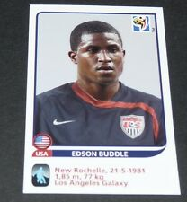 215 EDSON BUDDLE USA LA GALAXY EXTRA-STICKER PANINI FOOTBALL FIFA WORLD CUP 2010