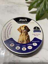 Jmxus Flea and Tick Collar Large Dog Last 8 Months