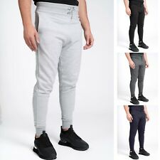Mens Slim Fit Joggers Jogging Bottoms Skinny Tracksuit Track Pants Gym M-2XL