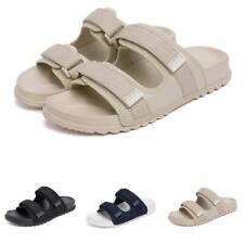 Summer Mens Beach Slippers Shoes Open Toe Walking Sports Flats Slip on Casual B
