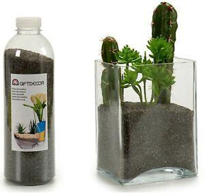 1.5 KG Decorative Sand Charcoal Black Colour Fish Tank Plants Arts & Crafts