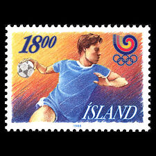 Iceland 1988 - Summer Olympic Games Seoul Sports - Sc 662 MNH