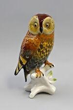 Eule Porzellanfigur Vogel Wald-Kauz Ens H14cm 9941525