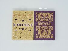 BICYCLE PLAYING CARDS SET OF JUBILEE AND MAJESTY DECKS - Factory Sealed