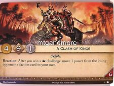 A Game of Thrones 2.0 LCG - 1x A Clash of Kings  #001 - Base Set - Second Editio