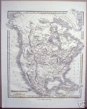 "Samuel Walker: ""North America,"" ca. 1834 Map"