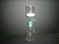 500ML,Glass Suction Filter Kit,250ML Buchner Funnel & 500ML Erlenmeyer Flask