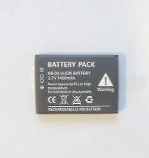 KJB DVR505 KB-04 Li-Ion Replacement Battery Pack Rechargeable HD-DVR1 DVR Button
