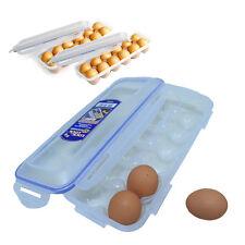 3PCS-Lock & Lock Egg Container storage Stackable Egg dispenser Keeps Fresh Safe
