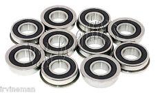 10 Flanged Bearing 8 x 16 x 5 mm Sealed Metric Bearings