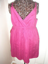 BNWT GAP Size Small approx 10 Ladies Pink Strappy V Neck Sun Top  *NEW*