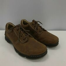 New Clarks Active Air Shoes UK 11 Brown Casual Occasion Lace Up Men's 291783