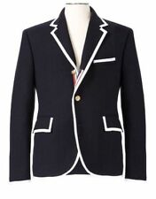 THOM BROWNE NEIMAN MARCUS Target Men's Navy Wool Dress Blazer Coat Size XL - NWT