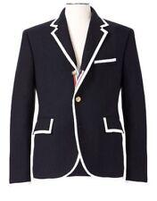 THOM BROWNE NEIMAN MARCUS Target Men's Navy Wool Dress Blazer Coat Small S NWT