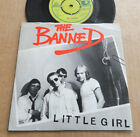 "DISQUE 45T DE THE BANNED "" LITTLE GIRL """