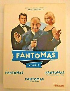 Coffret intégrale DVD trilogie Fantomas - Bon état