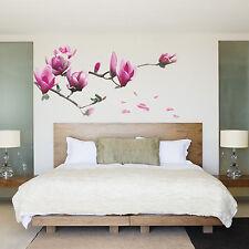 Wall Decal Sticker Removable Big Magnolia Flower DIY Art Room Decor