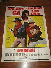 manifesto,1968,BANDOLERO!!,RAQUEL WELCH,JAMES STEWART,DEAN MARTIN WESTERN
