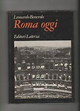 Leonardo Benevolo ROMA OGGI Laterza, 1977
