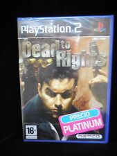 Dead to Rights para playstation 2 Pal Nuevo y precintado