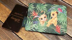 Disney Loungefly THE LION KING Simba & Nala Chibi Tropical Wallet/Cardholder NWT