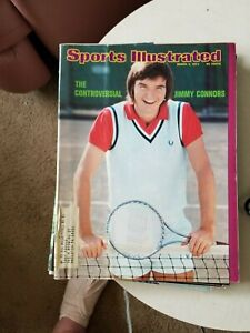 3/4/74 SPORTS ILLUSTRATED JIMMY CONNORS CONTROVERSIAL GROBEE 1957