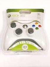 Genuine Microsoft XBOX 360 Wireless Controller B4F-00001 - White