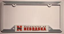 Nebraska Cornhuskers NCAA Plastic License Plate Frame