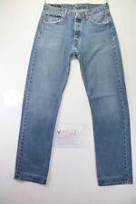 Levi's 501 Boyfriend (Cod. Y1561) Tg.47 W33 L36 jeans usato Vita Alta vintage