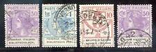 ITALIEN PORTOFREIHEIT 1924 36-37,39,41 gest (E7456b