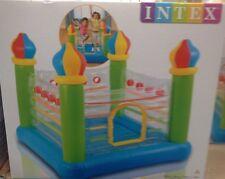 Intex New Jump-O-Lene Jumpolene Bouncy Castle Bouncer Transparent