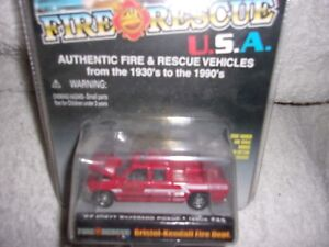RACING CHAMPIONS FIRE RESCUE U.S.A.99 CHEVY SILERRADO PICKUP #25