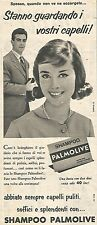W8684 Shampoo PALMOLIVE  - Pubblicità del 1958 - Vintage advertising