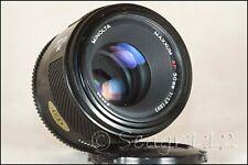 Minolta AF Maxxum/Sony Alpha 50mm f/1.7 Lens - Mint