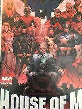 House of M #1 Gatefold variant 1st printing Marvel NM Bendis Coipel